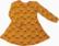 LAINE mekkotunika Hillat oranssi 86-152cm jc