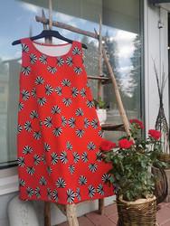 PILVI mekko Onnensydämet XS-XXL joustocollege, 2 pituutta