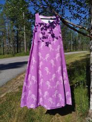 PILVI mekko Yksisarvinen XS-XXL trikoo, 2 pituutta