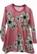 KISSANKELLO mekko Liljameri roosa 86-152cm lyhyt- ja pitkähihainen
