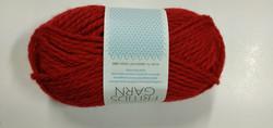 Fritidsgarn Tummanpunainen 4219