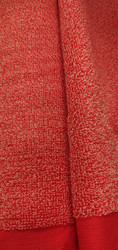 Frotee punainen/valkoinen 17,50 e/m