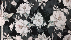 Trikoo ruusu musta 18,50 e/m