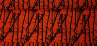 Ulkoiluvaatekangas Puusto oranssi 15,90 e/m