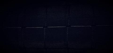 Peitetikkikangas musta 46 e/m