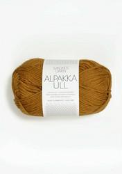Alpakka Ull 2335 sinapinkeltainen