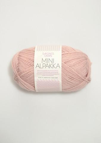 Mini Alpakka 3511 puuterin roosa