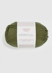 Merinoull 9364 oliivin vihreä