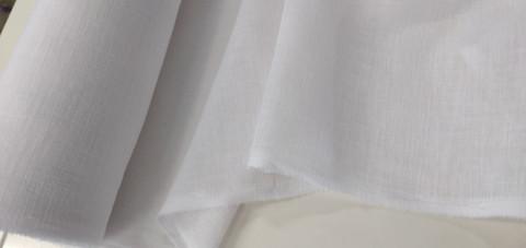 Linen look verhokangas valkoinen 5 e/m