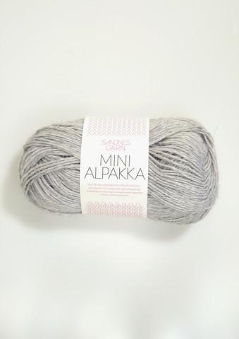 Mini Alpakka 1032 vaaleanharmaa