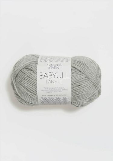 Baby Ull Lanett Vaaleanharmaa 1022
