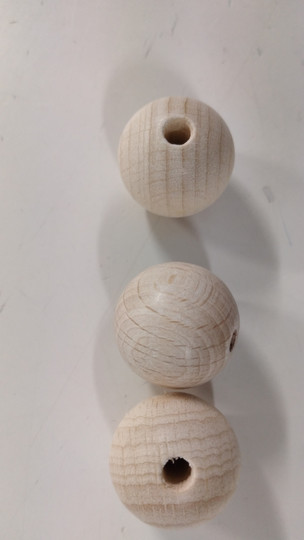 Puuhelmi 30 mm