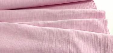 Harsokangas Double Gauze vaaleanpunainen 9,90 e/m