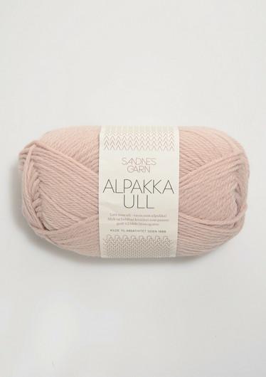 Alpakka Ull 3511 puuterin roosa