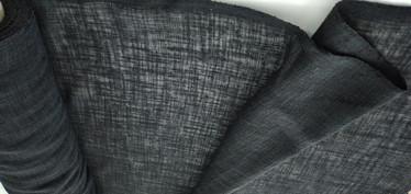 Linen look verhokangas musta 11,90 e/m