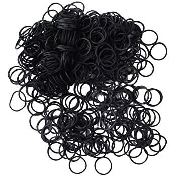 Rubber Bands Black 1000 pcs
