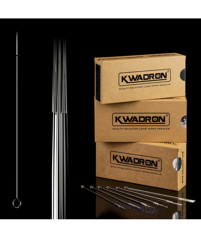 Kwadron NEEDLES 7RL Round Liner LONG TAPER 0,35mm (50 pc)