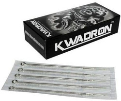 Kwadron NEEDLES 3 RS Round Shader Long Taper 0,35 mm (50 pc)