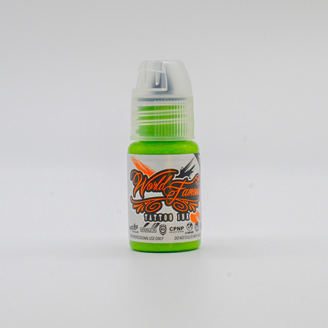 World Famous tattoo ink Money Frog Green 15 ml