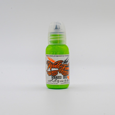World Famous tattoo ink Money Frog Green 30 ml