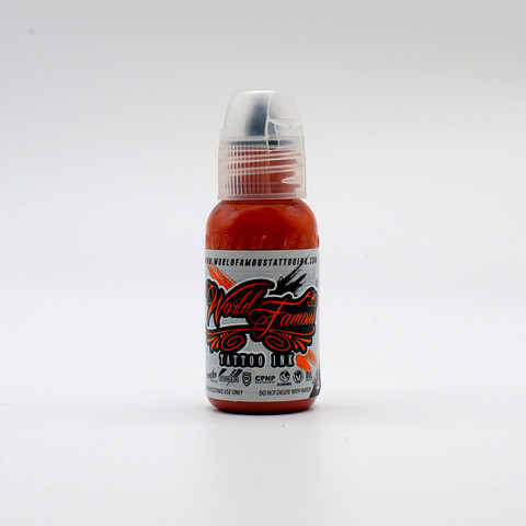 World Famous tattoo ink Mars Sand Red 30 ml