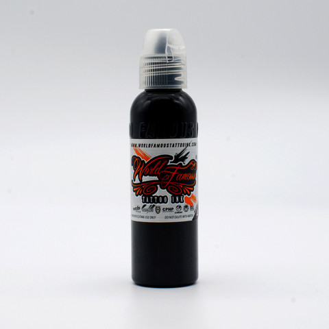 World Famous tattoo ink Black Outlining Ink  60 ml
