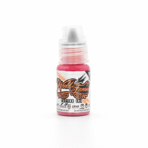 World Famous tattoo ink Pancho Pink 15 ml