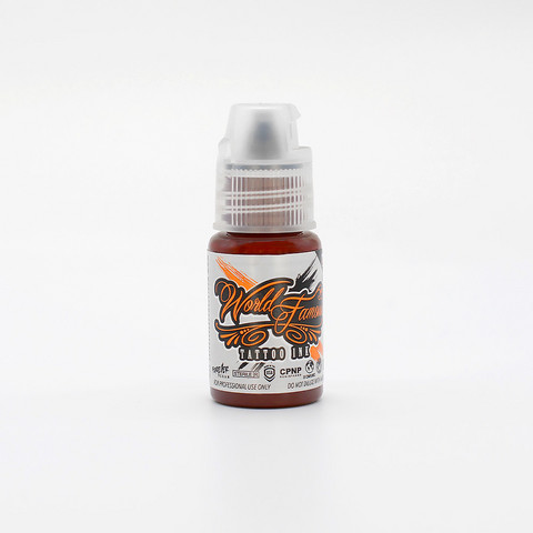 World Famous tattoo ink Red Square 15 ml