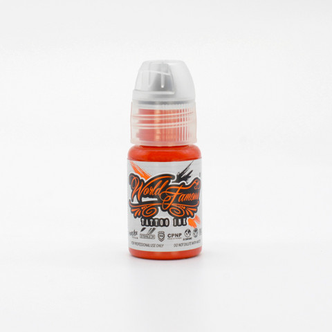 World Famous tattoo ink Red Hot Chili Pepper 15 ml