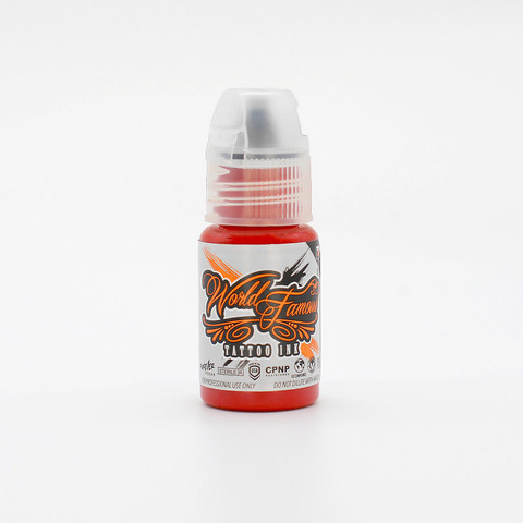 World Famous tattoo ink Red Hot 15 ml