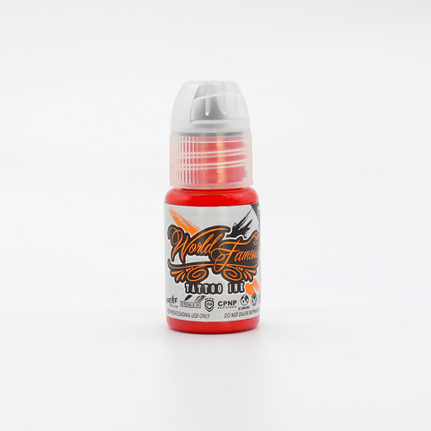 World Famous tattoo ink Samuel O'Reilly Red 15 ml