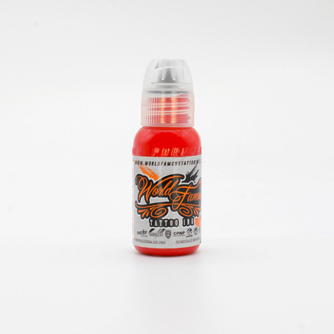 World Famous tattoo ink Samuel O'Reilly Red 30 ml