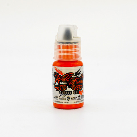 World Famous tattoo ink Tucan Tangerine 15 ml