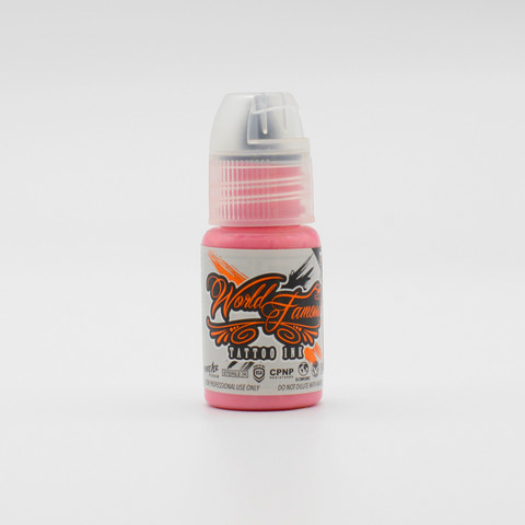 World Famous tattoo ink Flying Pig Pink 15 ml