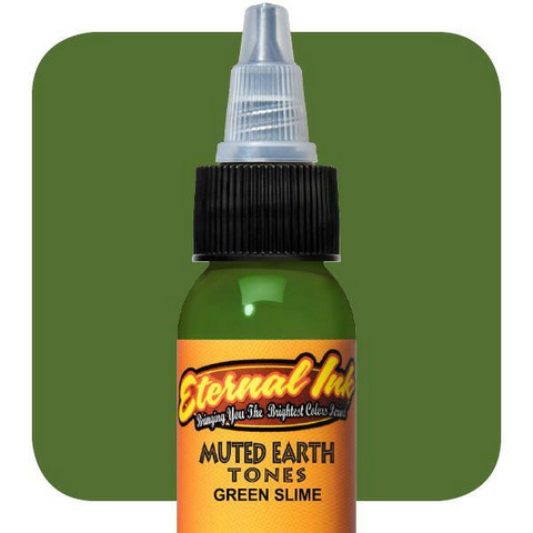 Muted Earth Tones, Green Slime 30 ml