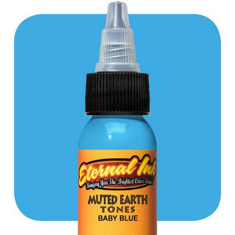 Muted Earth Tones, Baby Blue 30 ml