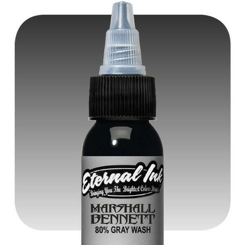 Marshall Bennett,  80% Gray Wash 30 ml