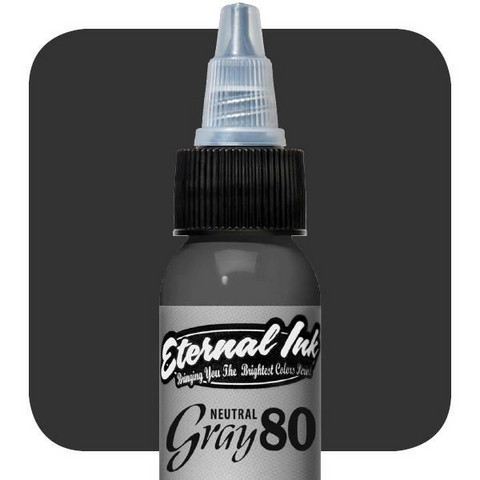 Neutral Gray 80 %    30 ml