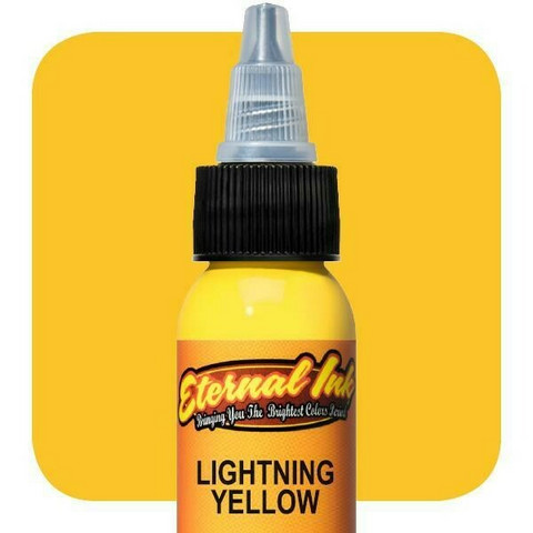Eternal Ink Lighting Yellow E40 muste 15 ml