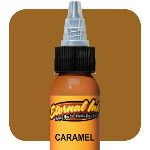 Eternal Ink Caramel E44 muste 15 ml