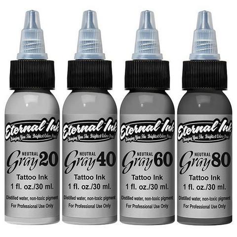 Neutral Gray 4 Set, 15 ml