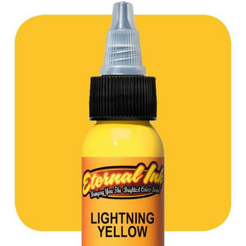Eternal Ink  Lighting Yellow E40 muste 30 ml
