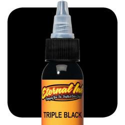 Eternal Ink  Triple Black E02 muste 15 ml