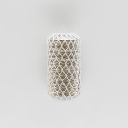 Precision Stainless Steel tattoo knurled grip 25 mm with long back steam 63 mm
