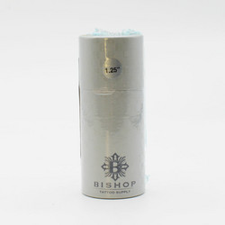 Fantom Aluminum Tube Cartridge Grip - Platinum Silver 25 mm