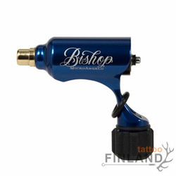 BIshop Rotary MicroAngelo tattoo machine Blue
