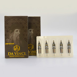 DA VINCI Cartridges 09RS Round Shaders 0.35mm (20 pc)