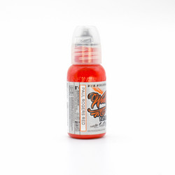 World Famous tattoo ink Paul Rogers Red 30 ml