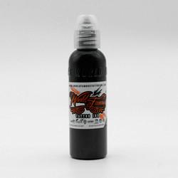 World Famous tattoo ink True Black 120 ml