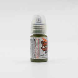 World Famous tattoo ink Olive Green ink, Jay Freestyle Watercolor Ink 15 ml